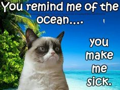 You remind me of the ocean...