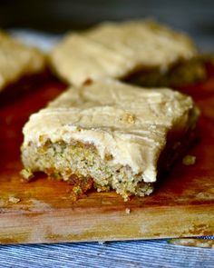 Yammie's Noshery: Zucchini Bars with Browned Butter Frosting