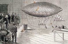 Cassell's Family Magazine, 1881: 'An Electrical Balloon.'