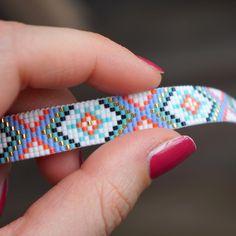 New bracelet now online available!! #yrsarmcandy #yoursarmcandy #armcandy #armbanden #armbandje #armbandjes #bracelet #kralenarmband #handmadebracelet #handmade #jewelry #jewellery #sieraden #beads #beadedbracelet #beadloom #kralen #miyuki #miyukibeads #miyukidelica #miyukibracelet #bohostyle #ibiza #ibizabracelet #gypsy #aztec #etsy