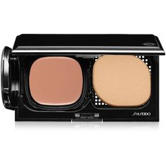 Shiseido Advanced Hydro-Liquid Compact Spf 15 Refill ($30) ❤ liked on Polyvore featuring beauty products, makeup, face makeup, foundation, b natural fair beige, spf foundation, shiseido foundation, moisturizing foundation, shiseido and hydrating foundation