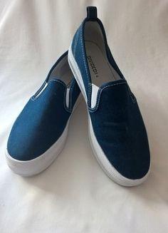 Kupuj mé předměty na #vinted http://www.vinted.cz/damske-boty/nazouvaci-boty/14121293-denim-blue-slip-on-hm