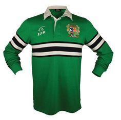 This long sleeve rugby shirt is made of a soft cotton with a crest that celebrates Ireland's rich rugby heritage. Long Sleeve Rugby Shirts, Polo Ralph Lauren, Sport, My Style, Sweaters, Cotton, Mens Tops, T Shirt, Jackets