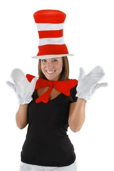 Get ready for the cat in hat accessory kit adult cheap Halloween costume. This cat in hat accessory kit adult is defintely one of the best Halloween costumes. Dr Seuss Costumes, Teacher Costumes, Adult Costumes, Book Costumes, Family Costumes, Group Costumes, Fun Costumes, Couple Costumes, Toddler Costumes