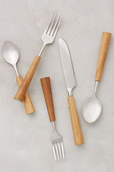 Color-Capped Flatware
