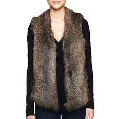 MNG by Mango® Faux Fur Vest - jcpenney