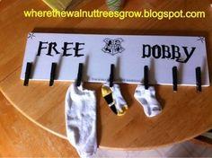 DIY Missing Sock Board