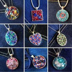 Murrina necklaces