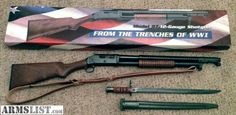 Norinco I.A.C. 1897 97t 12G trench gun with sling and bayonet