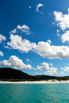 Whitehaven Beach, Australia ~ love the color of the water