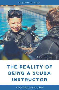 Are you wondering what it\'s REALLY like to be a Scuba Instructor? Then you\'ve come to the right place because we\'ve the answers to your questions! Scuba Diving Equipment, Scuba Diving Gear, Cave Diving, Cozumel, Cancun, Tulum, Scuba Diving Certification, Maui Vacation, Big Island Hawaii