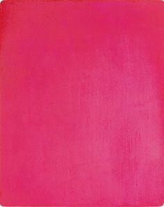Pink art by Yves Klein, Pink Monochrome, 1962 Yves Klein, Pink Love, Pretty In Pink, Hot Pink, Monochrome, Takashi Murakami, Colour Field, Mid Century Modern Design, Jackson Pollock
