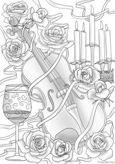 225 Best Adult Coloring Pages For Inspiration Images On Pinterest In