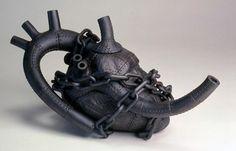 Heart Teapot by Nicholas Homoky #heart #love