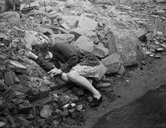 After the War - Henri Cartier Bresson - April 1945 - Dessau - Germany