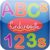 ABCs and 123s by Fundanoodle (FREE) #iOS