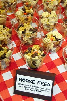 VBS Food and Snacks for 2010 Saddle Ridge Ranch . VBS Food and Snacks for 2010 Saddle Ridge RanchDIY Western theme party decorating ideas . Rodeo Birthday, Horse Birthday Parties, Cowboy Birthday Party, Birthday Party Snacks, Farm Birthday, Birthday Ideas, Country Birthday, Cowboy Party, Cowboy Snacks