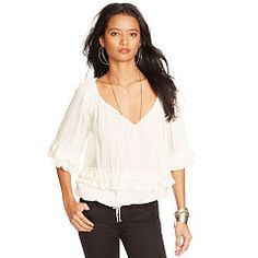 49978586 - Ruffled Boho Top