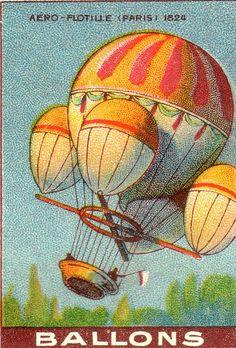 vintage air balloons | ballon by pilllpat (agence eureka), via Flickr