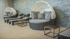 Outdoor Furniture, Outdoor Decor, Spa, Home Decor, Decoration Home, Room Decor, Home Interior Design, Backyard Furniture, Lawn Furniture