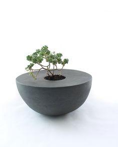 Handbuilt Hemisphere Planter by LandMstudio on Etsy, $250.00