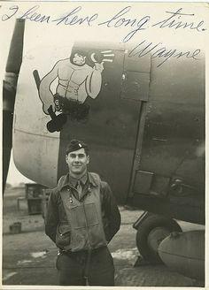 56th Fighter Group, 62nd Fighter Squadron P-47C. Pilot Wayne Brainard