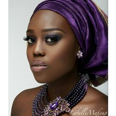 Makeup & gele by Labelle Makeup UK