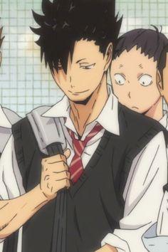 Haikyuu Kageyama, Kuroo Tetsurou, Haikyuu Fanart, Haikyuu Anime, Anime Films, Anime Characters, Anime Dancer, Best Anime Shows, Volleyball Anime