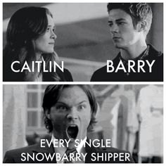 Exactly my face! *o* Snowbarry The Flash.