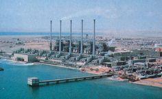Al-Khobar Desalination plant in Saudi Arabia