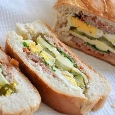 Stuffed loaf. Recipes with photos.