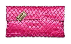 NINA co fucsia clucth bag   NOW ON SALE!  @www.ninaco.it/eshop.php?zcid=477# Continental Wallet, Women's Fashion, Shoe Bag, Bracelets, Accessories, Shopping, Shoes, Pouch Bag, Zapatos