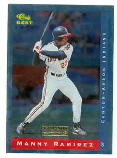images of top rookie baseball cards | ... baseball card 1993 Classic Best #YG18 Foil (Cleveland Indians rookie