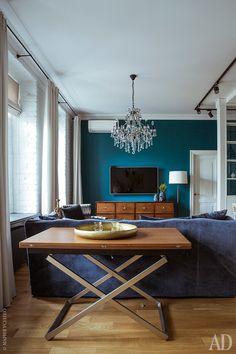 Квартира в старом доме: фото интерьеров от архитектора Марины Савельевой   AD Magazine