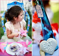 Real Parties: Alice in Wonderland Birthday