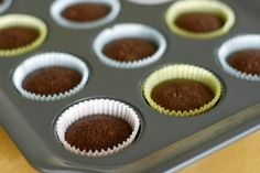 Baking Brownies in Muffin Tins