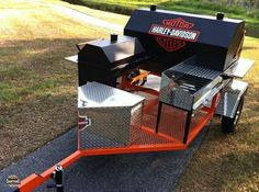 Grilling Harley Style | Harley Davidson | Totally Rad Choppers