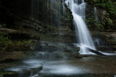 1) Cummins Falls - Cookeville, Tennessee. There used to be two mills on this now vibrantly popular property, but now you'll find a lot of hikers and adventurers ready for a day in the sun.