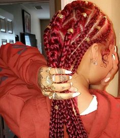 @bg_rrs ✨ red box braids