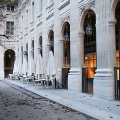 "foreverchampagneiglikes: ""My favorite spot in Paris: Palais Royal. I love the warmth of the light peaking from behind the buildings arches in this shot. Rester Simple, Sweet Night, Ends Of The Earth, Palais Royal, Classic Architecture, Paris Travel, City Lights, Paris France, Beautiful Places"