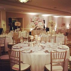 The Westin South Coast Plaza, Orange County weddings, wedding reception, indoor weddings, chiavari chairs, centerpieces, linens, chargers, pink and white, uplighting, #thewestinscp #twscp #westinweddings #southcoastplaza #thewestin