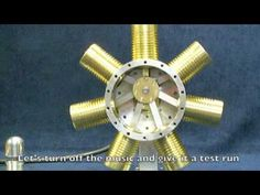 7 Cylinder Radial Steam Engine - The Build - YouTube