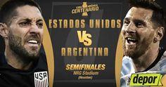 Ver Estados Unidos vs Argentina En Vivo Online Semifinal Copa América Centenario 2016