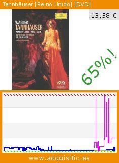 Tannhäuser [Reino Unido] [DVD] (DVD). Baja 65%! Precio actual 13,58 €, el precio anterior fue de 38,31 €. Por Richard Wagner. http://www.adquisitio.es/deutsche-grammophon/tannhauser-colin-davis