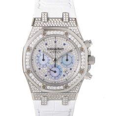 Audemars Piguet Royal Oak Chronograph- Special Price: $71,525.00 http://www.luxurybazaar.com/items/itemid_437_Royal_Oak_Chronograph_26068BCZZD002CR01.html