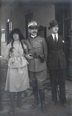 Franco Antonicelli con i genitori