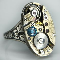 SO pretty and unusual. I admire this artisan's skills. By Junk2Punk on Etsy.