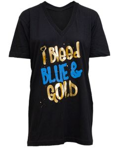 So this is actually a frat shirt but I do love me some National Blue and Corn Gold!