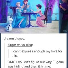 I love this so much! Poor Olaf.