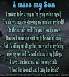 I miss you so very much Ryan ❤️